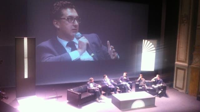 Le nouveau directeur général Maxime Saada est venu pour la première fois aux rencontres cinématographiques de Dijon