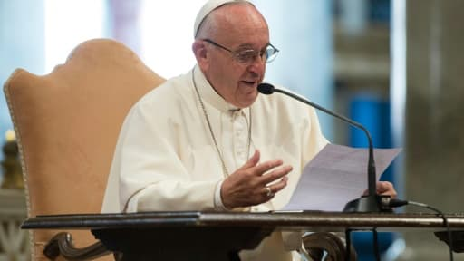 Le pape François à Rome le 2 juin 2016