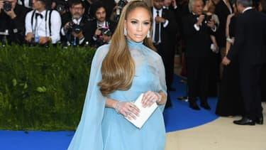 Jennifer Lopez en mai 2017 à New York