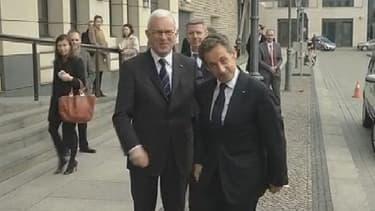 Nicolas Sarkozy vendredi.