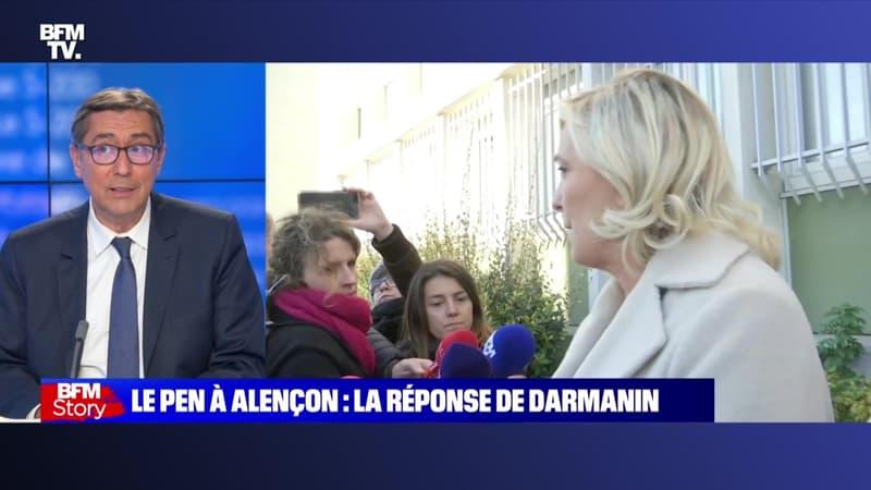 Story 4 : La réponse de Gérald Darmanin à Marine Le Pen sur les violences à Alençon - 28/10