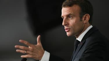 Emmanuel Macron, le 16 novembre 2018.