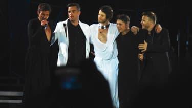 Le boys band Take That en 2011