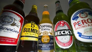 Corona, Budweiser, Peroni quelques unes des plus grandes marques du nouveau géant de la bière qui va peser 64 milliards d'euros de chiffre d'affaires.