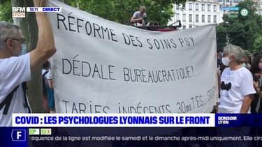 Covid : les psychologues lyonnais sur le front