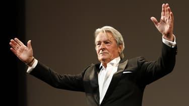 Alain Delaon au dernier festival de Cannes, le 25 mai 2013.
