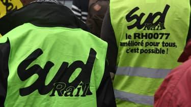 Le syndicat Sud-Rail soupçonne un fichage des agents SNCF actifs sur les réseaux sociaux. (image d'illustration)
