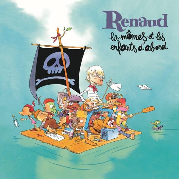 La couverture du nouvel album de Renaud, réalisée par Zep.