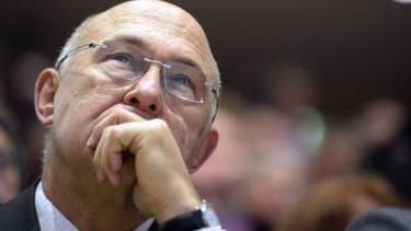 Michel Sapin,le ministre de l'Economie, réaffirme la mise en oeuvre d'économies