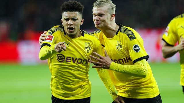 Sancho et Haaland - Dortmund