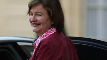 Nathalie Loiseau quittant l'Élysée le 18 mars 2019.