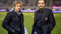Diego Dominguez et Mourad Boudjellal (Toulon)