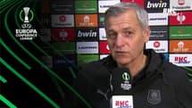"""Rennes 2-2 Tottenham : """"nous méritions de l'emporter"""" lance Genesio"""