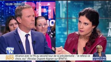 """""""On a fait croire aux Français que je devenais Front national"""", Nicolas Dupont-Aignan"""