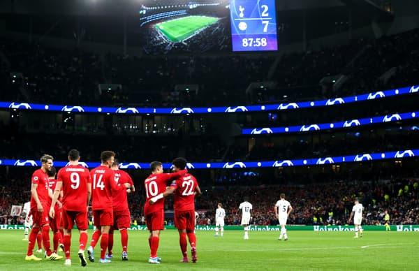 La défaite de Tottenham contre le Bayern (2-7)