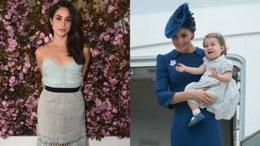 Meghan Markle a enfin fait la connaissance de Kate Middleton et la princesse Charlotte