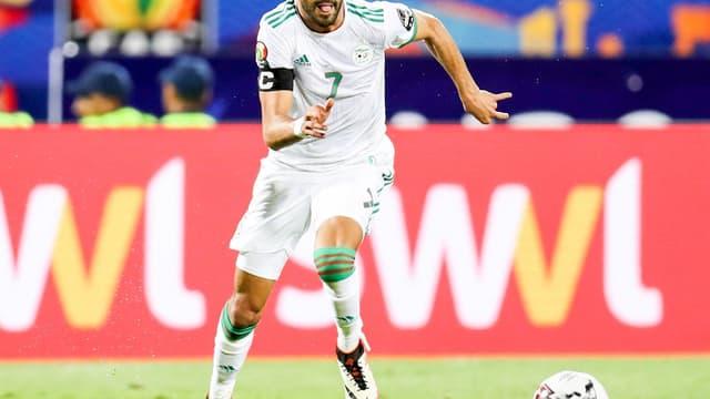 Riyad Mahrez et l'Algérie tenteront de prendre la 1ere place du groupe C