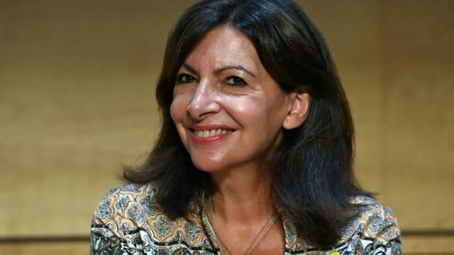 La maire de Paris Anne Hidalgo aux journées parlementaires du PS à Montpellier,le 7 septembre 2021.
