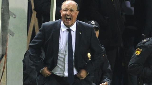 Rafael Benitez, l'entraîneur du Real Madrid