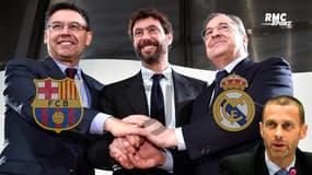 Super League : L'UEFA suspend sa procédure contre le Barça, le Real et la Juventus