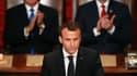Emmanuel Macron s'exprimait devant le Congrès américain ce mercredi.
