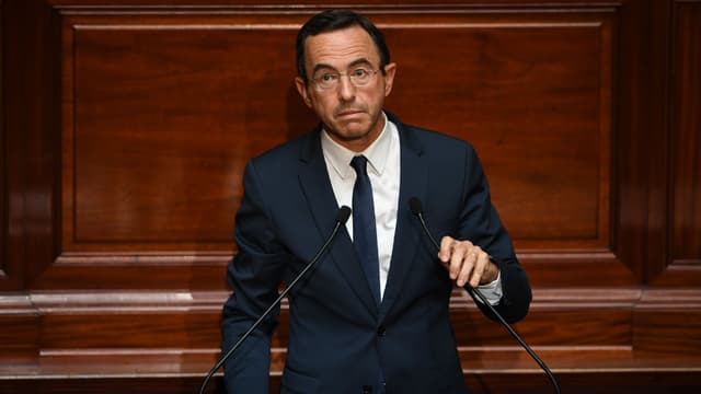 Bruno Retailleau, président du groupe LR au Sénat