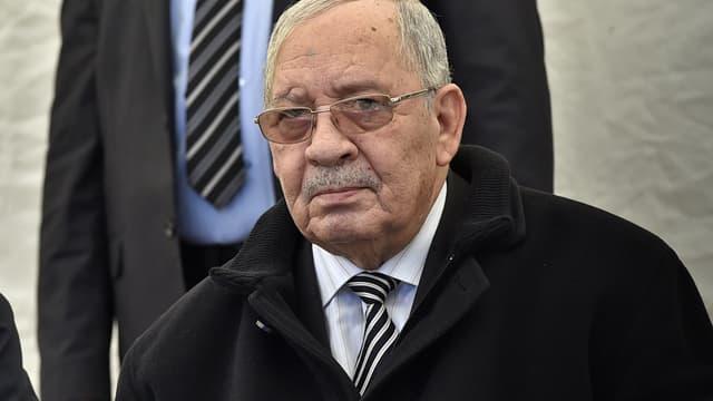 Le général Ahmed Gaïd Salah.
