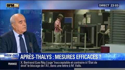 Les nouvelles mesures de sécurité dans les trains sont-elles efficaces après l'attaque du Thalys ?