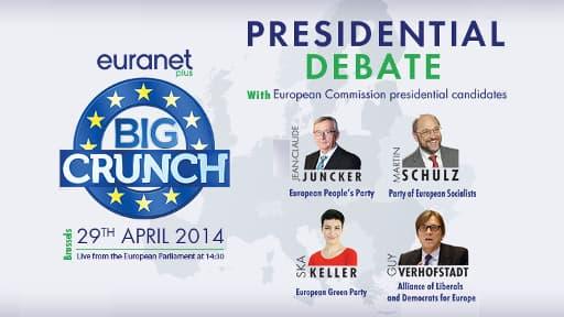 Les candidats à la Commission européenne débattent aujoud'hui de l'avenir de l'Europe