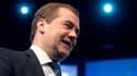 Le Premier ministre russe Dimitri Medvedev, le 23 janvier 2013.