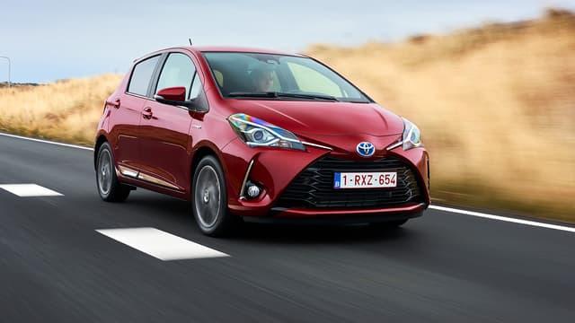 L'action Toyota s'inscrivait à la hausse lundi après l'annonce de résultats trimestriels supérieurs aux attentes. (image d'illustration)