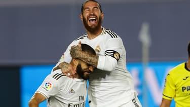 Sergio Ramos et Karim Benzema