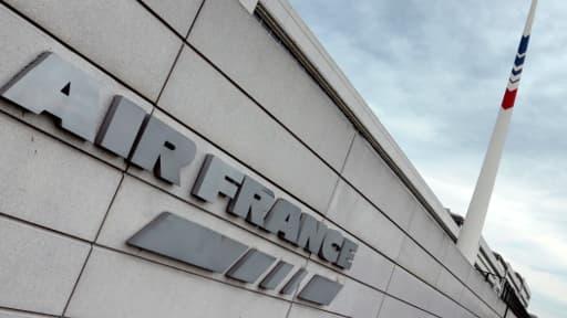 Le siège d'Air France à l'aéroport Roissy-CDG, le 21 juin 2012.