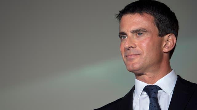 Le Premier ministre Manuel Valls le 12 septembre 2014 à Meaux