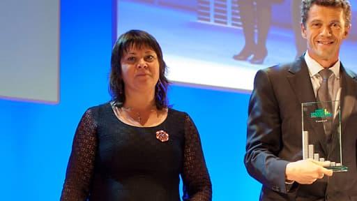 Nathalie Croisé lors des Green Business Awards