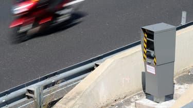 Image d'illustration - Une cabine de contrôle automatique de la vitesse.