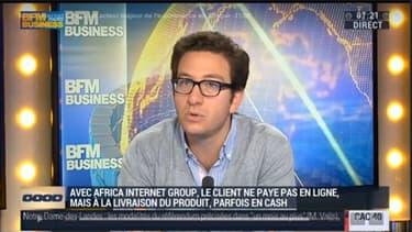 """Pour Jérémy Odara, un des cofondateurs d'AIG, """"Dans tous les pays d'Afrique, il y a une classe moyenne qui veut consommer""""."""