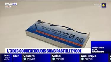 Centrale nucléaire de Gravelines: un tiers des riverains n'ont pas récupéré leurs pastilles d'iode