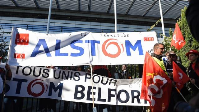 Le plan de sauvetage du site d'Alstom Belfort contesté.