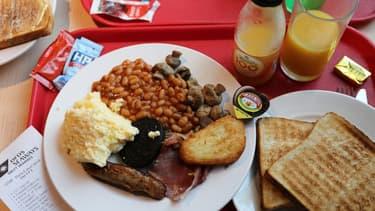 Le petit déjeuner des Britanniques est plus salé que celui des Français