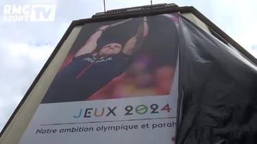 JO 2024 : L'affiche géante de Lavillenie dévoilée... non sans mal