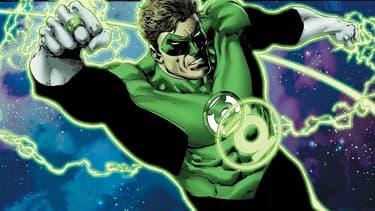 Le super-héros Green Lantern