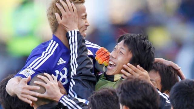 Keisuke Honda a marqué le premier but japonais