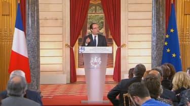 François Hollande a détaillé les réformes à venir, jeudi 16 mai.