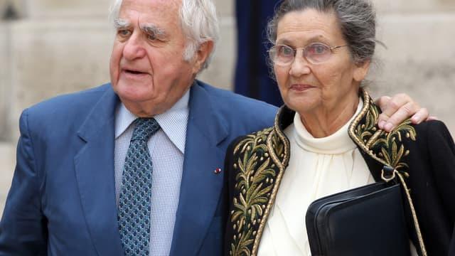 Antoine et Simone Veil en 2011.