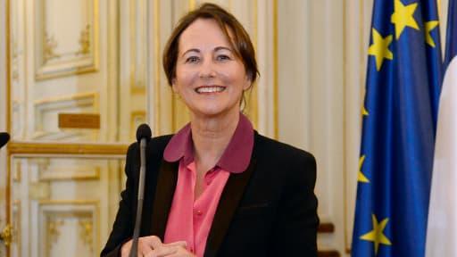 Ségolène Royal présente en Conseil des ministres son plan pour la transition énergétique.
