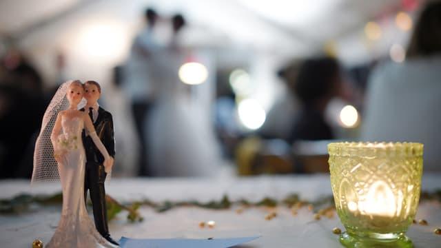Un Chinois a été arrêté pour avoir payé 200 faux invités à son mariage. (Photo d'illustration)