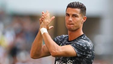 Cristiano Ronaldo, à Turin le 14 août 2021