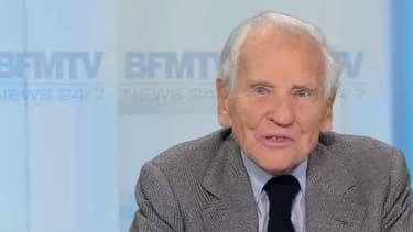 Jean d'Ormesson, doyen de l'Académie française, écrivain et journaliste, sur BFMTV le 17 octobre 2017.