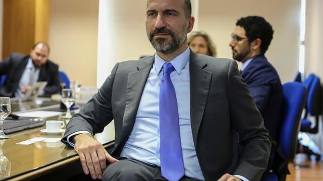 Dara Khosrowshahi, le nouveau patron d'Uber.
